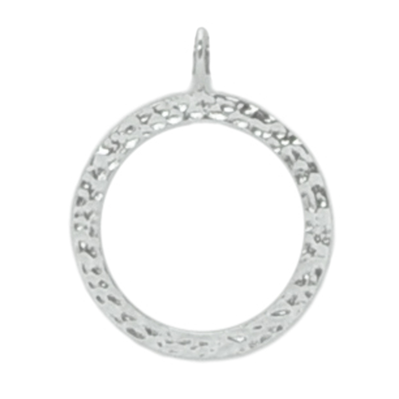 8017 | Sterling Silver Pendant - Circle