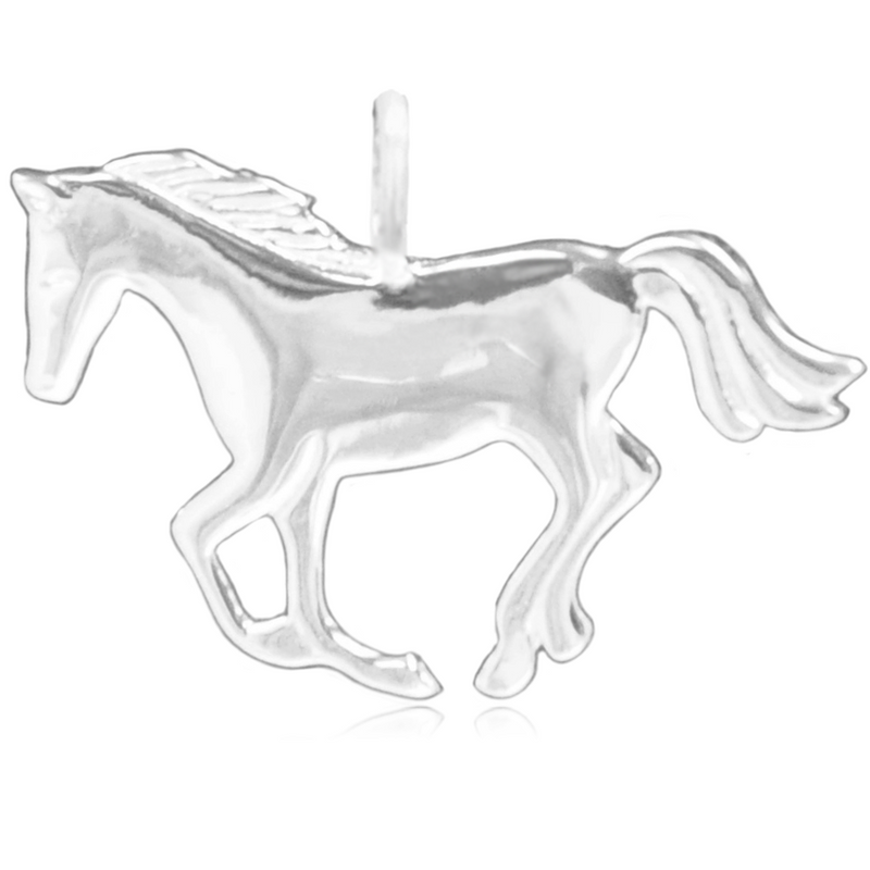8065 | Sterling Silver Pendant – Horse