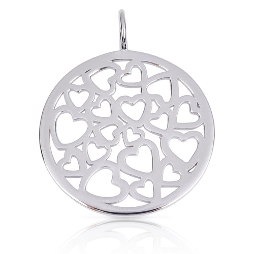 8091 | Sterling Silver Pendant – Circle of Love