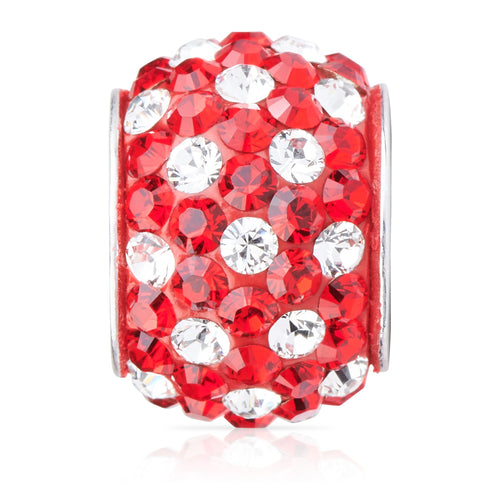 1828 | Sparklies® - Bright Red & White Polka Dot (JUL)