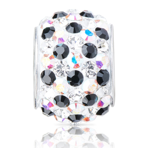1830 | Sparklies® - Iridescent White & Black Speckled