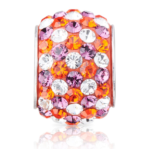 1831 | Sparklies® - Orange & Purple Speckled