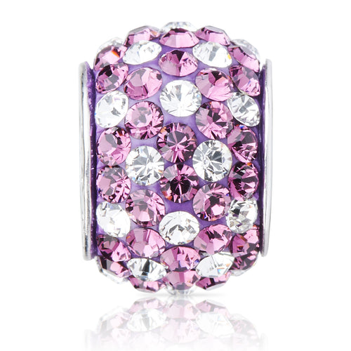 1834 | Sparklies® - Purple & White Polka Dot