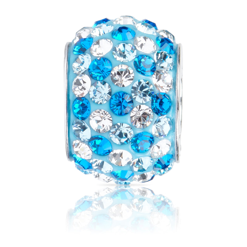 1884 | Sparklies® - Capri Blue Speckled