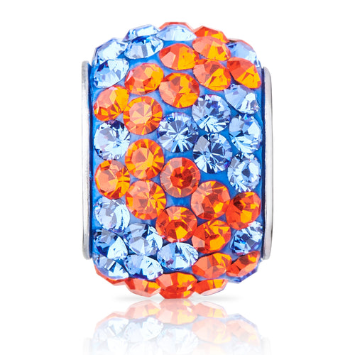 2200 | Sparklies® - Orange & Blue Zebra