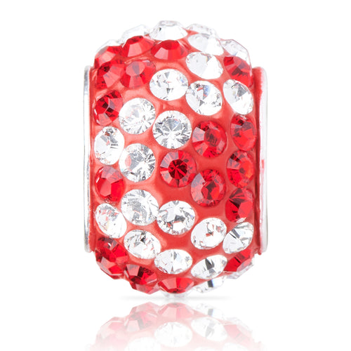 2210 | Sparklies® - Bright Red & White Zebra