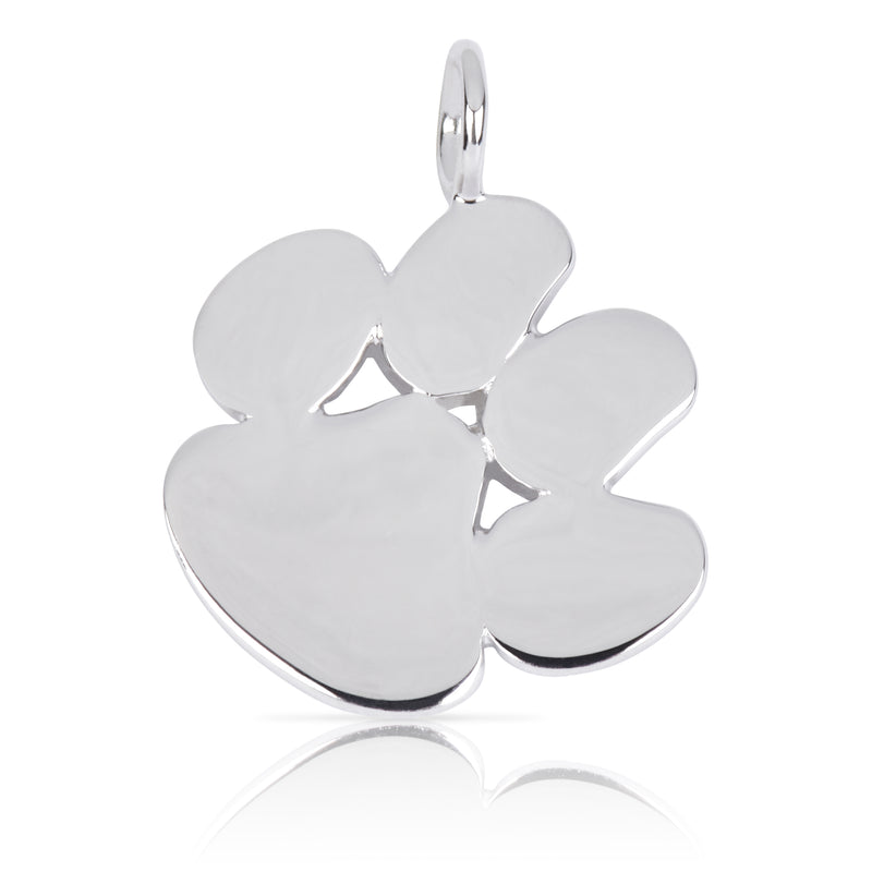 8016 | Sterling Silver Pendant - Paw
