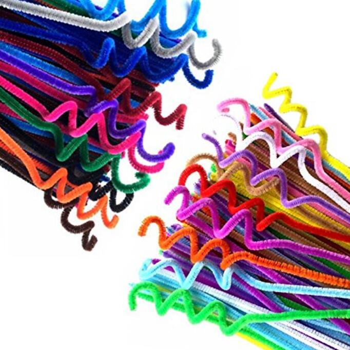 720 Pcs 36 Colors Glitter Pipe Cleaners Chenille Stems,Assorted Colors Pipe Cleaners for Creative Handmade DIY Crafts,Ornaments,Party Decoration (6 mm x 12 Inch) - JijaCraft