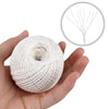 Natural White String,984 Feet Christmas String,Cotton String Baker Twine,Heavy Duty Packing String for DIY Crafts and Gift Wrapping-2mm - JijaCraft