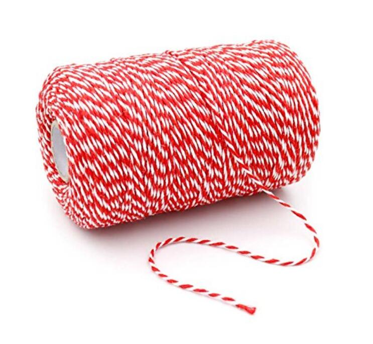 200 M/218 Yard Durable Cotton Baker's Twine Perfect for Bakers Twine, Gardening, Butchers, DIY Crafts, Gift Wrapping - JijaCraft