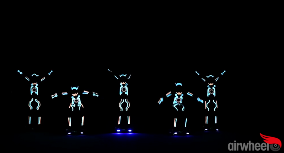 AirBoard LED Dance Show