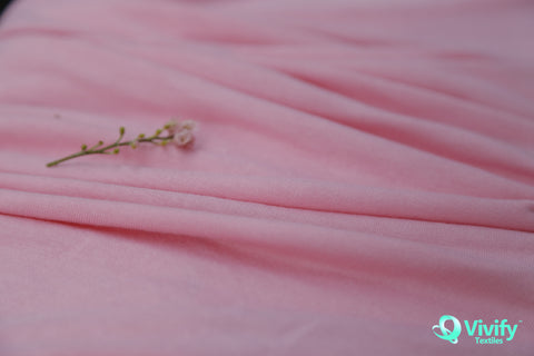 Bamboo Jersey Pink - Vivify Textiles