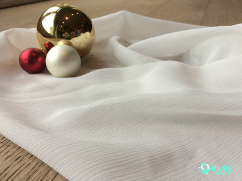 Recycled Polyester Crepe Chiffon - Vivify Textiles