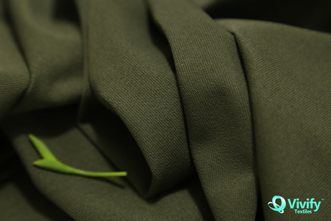 Recycled Polyester Woven Fabric 4 way Stretch, Rain Tested - Vivify Textiles