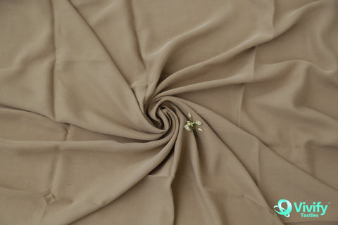 Tencel Gabardine Brown