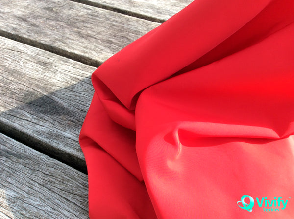 Recycled Polyester Memory Imitation Woven, Water Repellent, Fluorine Free - Vivify Textiles