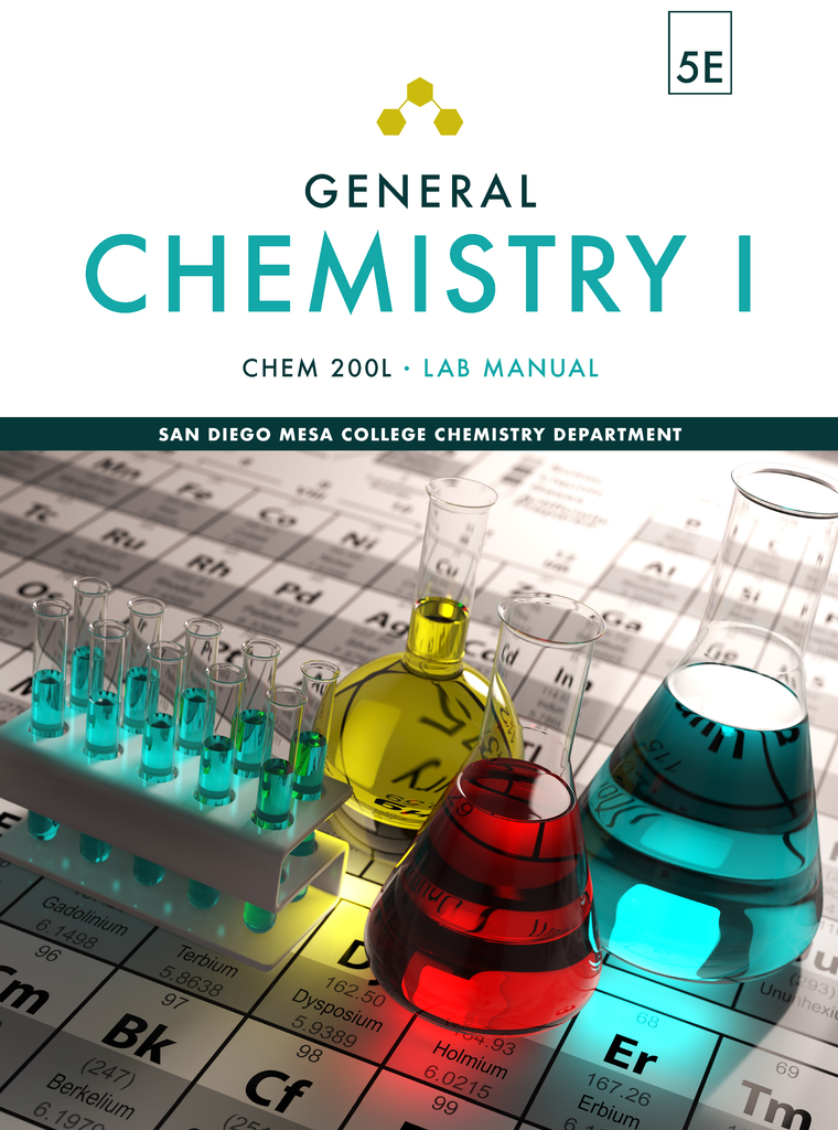 CHEM 200L: General Chemistry I, 5E, San Diego Mesa College (Top Hat Bundle - Fall 2020)