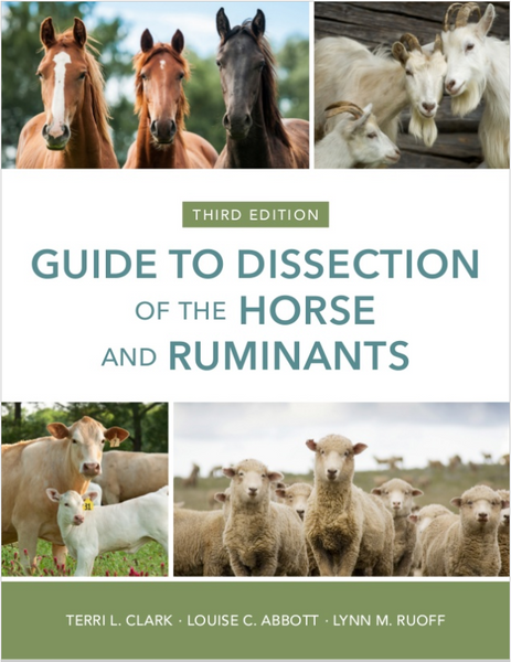 Guide to Dissection of the Horse and Ruminants, 3rd Edition