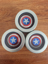 Metal Fidget Spinner Captain America