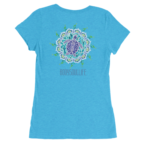 BSL Artist Collection- Mandala Turtle Medallion Tee