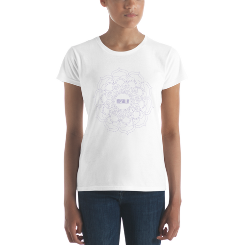 BSL Signature Mandala Tee Purple Outline