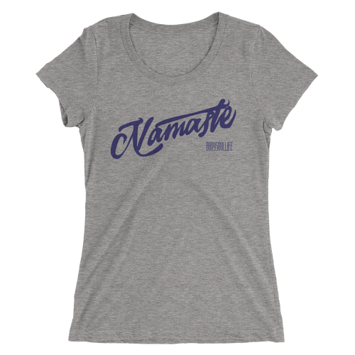 Namaste Yoga Tee- Multiple Natural Colors