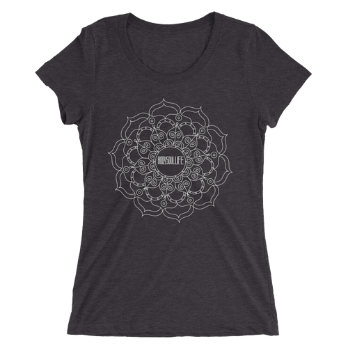 BSL Signature Mandala Tee White Outline