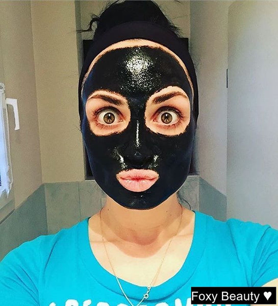 Get rid of your black heads with our Black Mask.