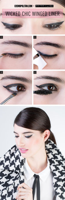 The One Trick You Need to Get Perfect Winged Eyeliner