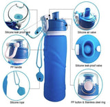 Reusable Silicone Collapsible Bottle