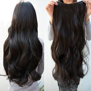 Long  Hair Extension Curl Wavy  Sexy Stylish Clip-on women fashion cosmetics Long Wigs