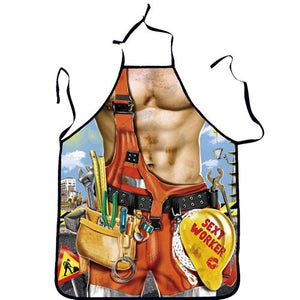 Kitchen Sexy ApronTablier Digital Printed Bibs Woman Funny Pinafore Cooking Baking Party Cleaning Cute Aprons For Women Avental Type 8