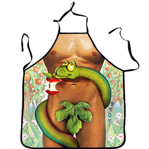 Kitchen Sexy ApronTablier Digital Printed Bibs Woman Funny Pinafore Cooking Baking Party Cleaning Cute Aprons For Women Avental Type 13