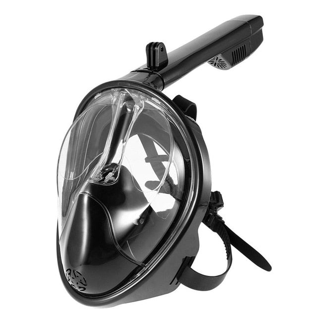 Full-Faced Snorkeling Mask White / L/XL