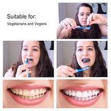 Bamboo charcoal coconut teeth-whitening powder