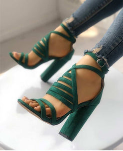Gladiator High Heel Summer Shoes