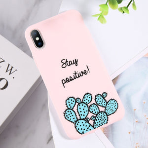 Funny Cartoon Phone Case For iPhone 8 / AC7704 Pink