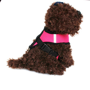 Cat Dog Adjustable Walking Harness Vest
