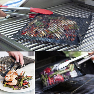Reusable Non-Stick BBQ Mesh Grill Bags China / B
