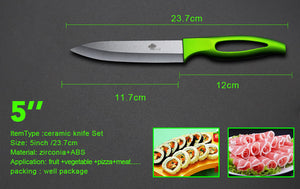 High Quality Ceramic Knife set