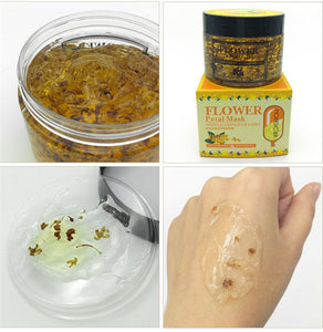 Flower Petals hydrating face mask