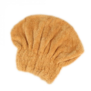 Microfibre Quick Hair Drying Wrap Towel Hat
