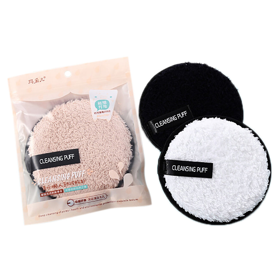 Microfiber Suede Cleansing Cotton(3pcs)