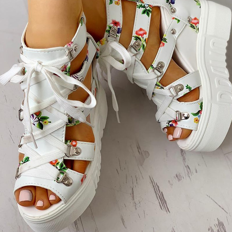 Hot Print Leisure Wedges