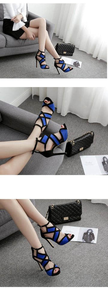 Summer High Heel Shoes