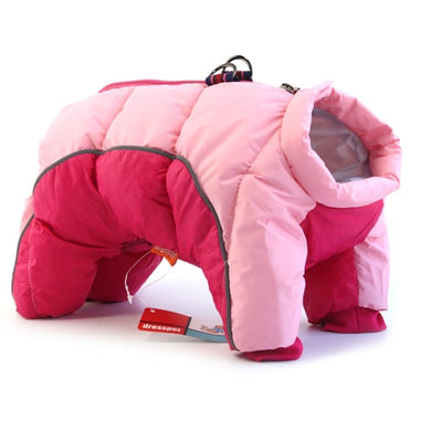 Winter waterproof dog cotton coat Pink Dog Clothes / XXL