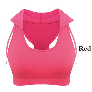 Shock Proof Sports Bra Red / S