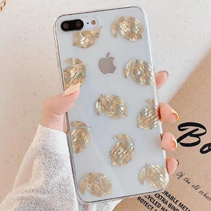 Luxury Glitter Transparent iPhone case For iPhone XS Max / 03