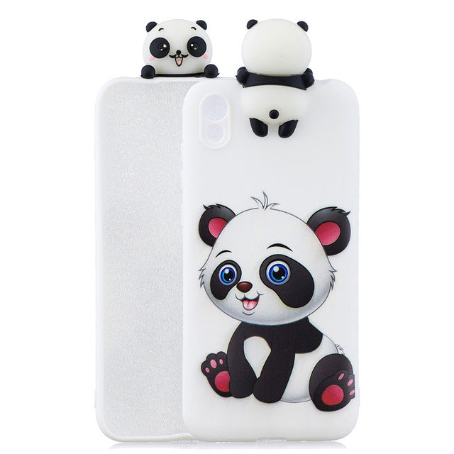 Honor 8S Huawei Y5 Cartoon Silicone Soft Phone Case Huawei Y5 2019 / B