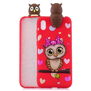 Honor 8S Huawei Y5 Cartoon Silicone Soft Phone Case Huawei Y5 2019 / H